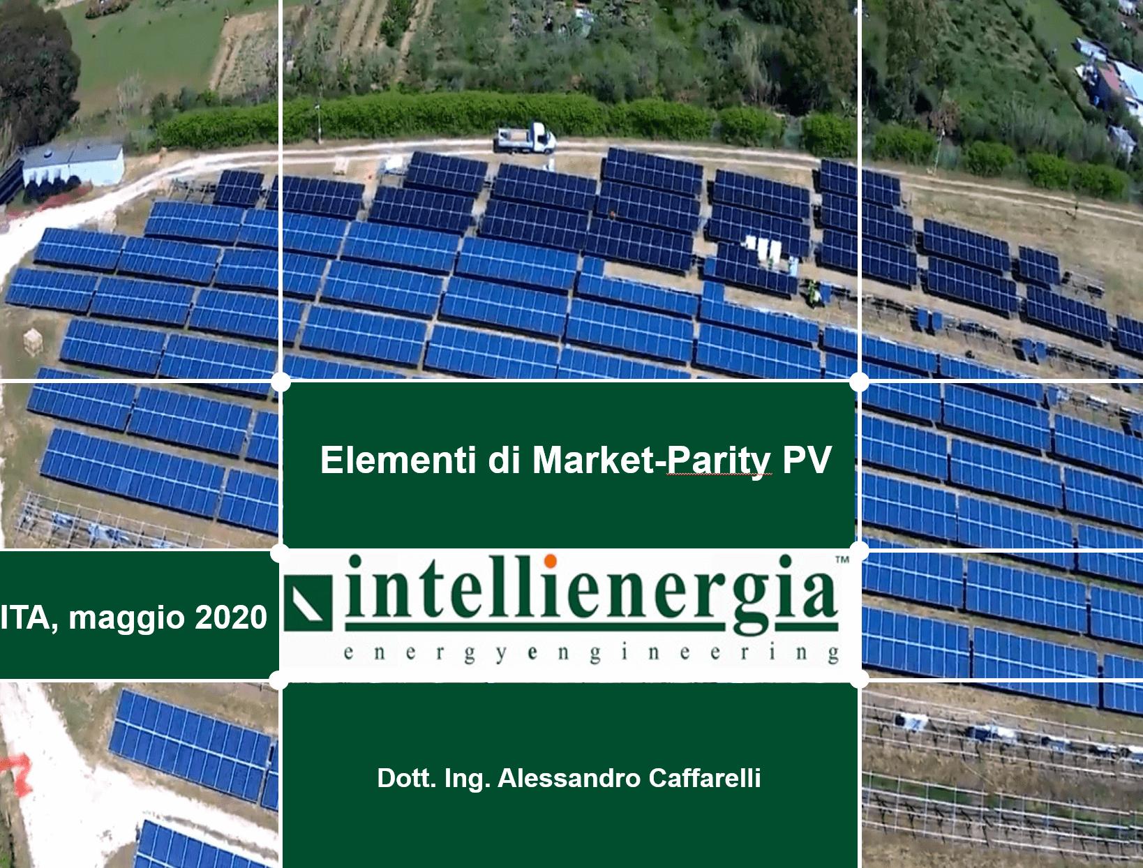 Elementi di Market-Parity